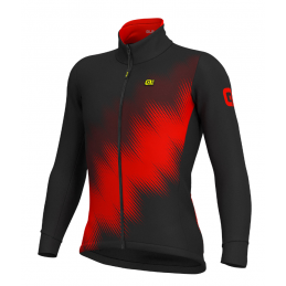 JACKETS SOLID PULSE STRETCH BLACK RED
