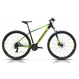 MTB 27.5'' NATURAL 60 BLACK-YELLOW-GREEN