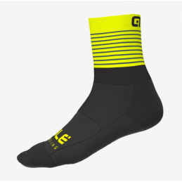 SUMMER CALZE PIUMA BLACK YELLOW FLUO