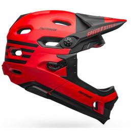 CASCO SUPER DH FLEX + MIPS BLACK RED