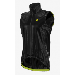 JACKET DISMANTLED ANTIRAIN LIGHT PACK VEST BLACK SHELL