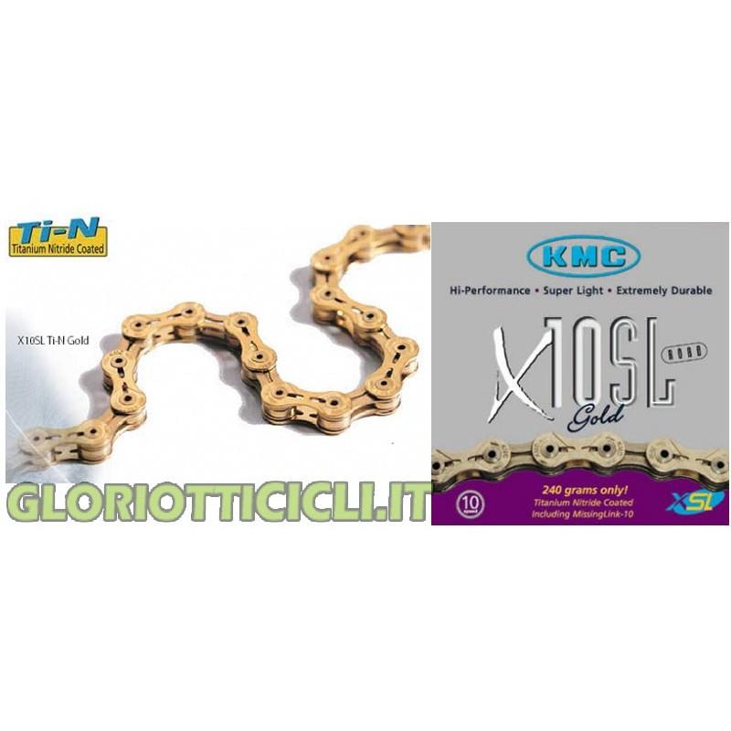 CHAIN X10-SL GOLD 10 VEL.