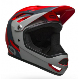 CASCO INTEGRALE SANCTION PRESENCE MATTE CRIMSON-SLATE-GRAY