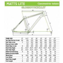 MTB MATTS LITE CHAMPION-D kg.10.8