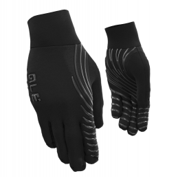 BLACK WINTER LIGHT GLOVES
