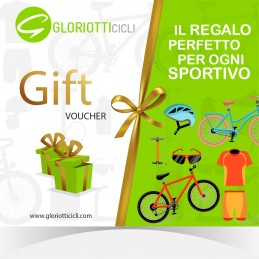 OFFRI UN REGALO SU MISURA! SCEGLI TU IL VALORE DEL BUONO - Giftcard Digitale Gloriotti Cicli