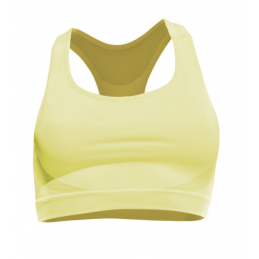 BRA SPORTS PERFORMANCE YELLOW