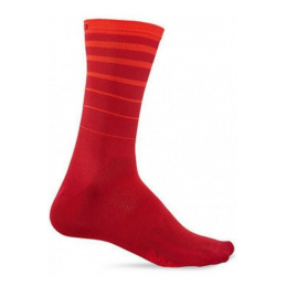 CALZE COMP RACER HIGH RISE RED