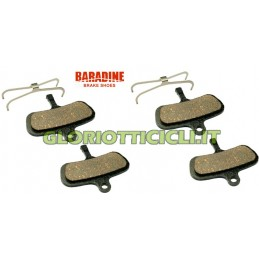 SET 4 SINTERED BRAKE PADS x AVID CODE