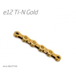 CHAIN E12 GOLD E-BIKE T-IN