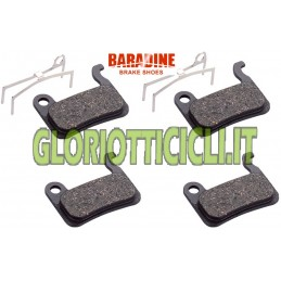 SET 4 ORGANIC PADS FOR SHIMANO