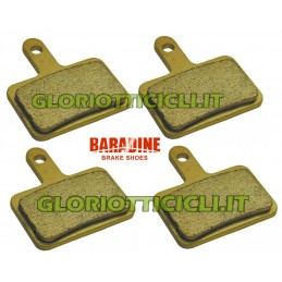 SET 4 SINTERED PADS FOR DEORE