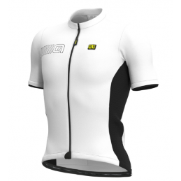 WHITE SOLID M/C JERSEY