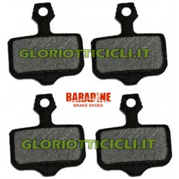SET 4 ORGANIC PADS FOR AVID ELIXIR BR068
