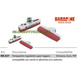 SET COMPLETO PORTAPATTINI CORSA WHITE BR037