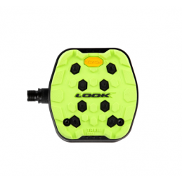 LIME TRIAL GRIP PEDALS
