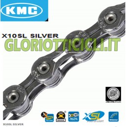 CHAIN X10 SL SILVER 241 GRAMS