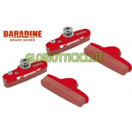 SET COMPLETO PORTAPATTINI CORSA RED BR096