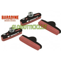 SET 4 PORTAPATTINI CORSA BLACK BR095