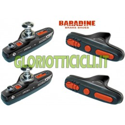 SET 4 PORTAPATTINI CORSA BLACK BR098