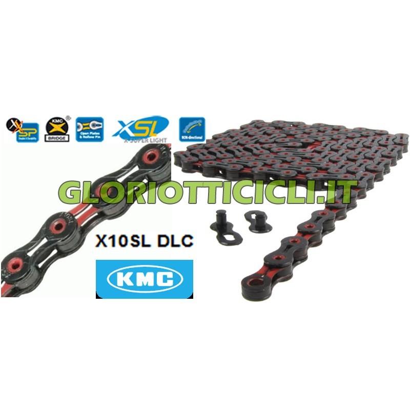 X10SL DLC LIMITED EDITION BLACK/RED CHAIN