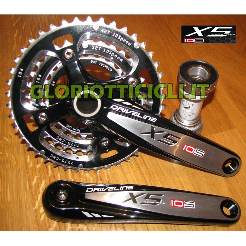 GUARNITURA MTB X5 OS 10 SPEED 860 gr.