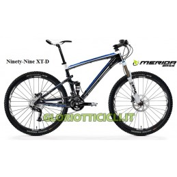2012 MTB FULL SUSPENSION NINETY-NINE XT-D