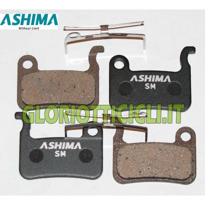4 BRAKE PADS FOR SEMI-METALLIC SHIMANO