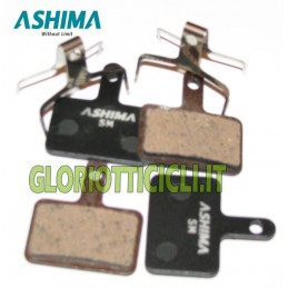 SET 4 BRAKE PADS FOR SEMI-METALLIC SHIMANO/TEKTRO
