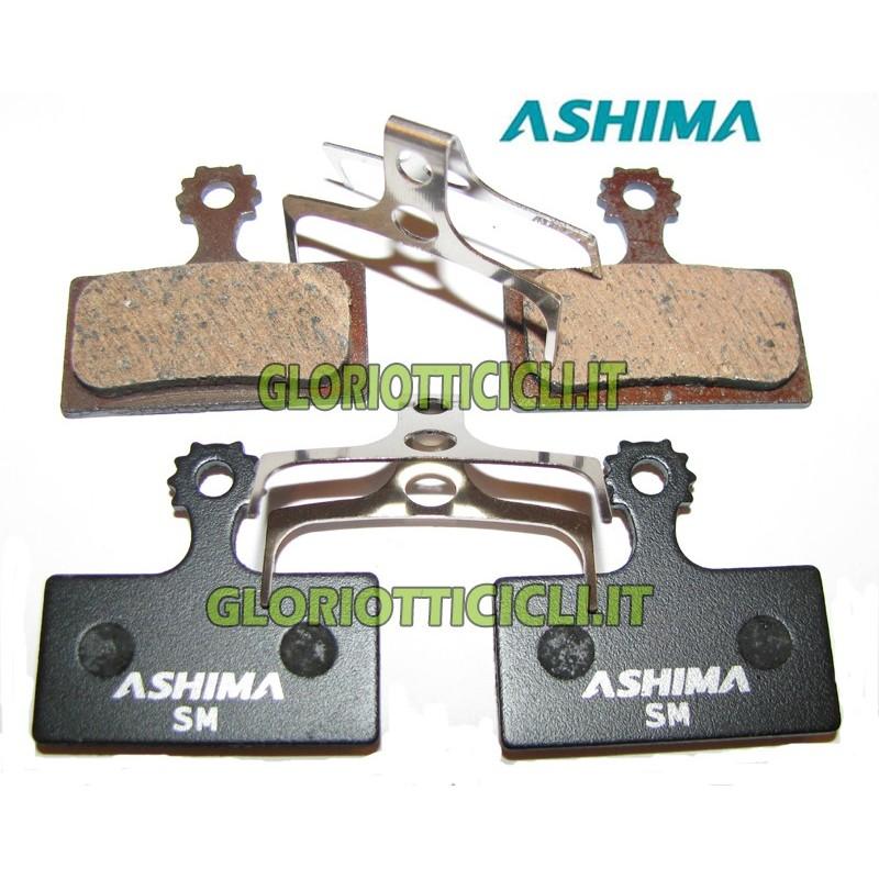 SET 4 PASTIGLIE FRENO PER SHIMANO XTR BR-M985 SEMI METALLICHE