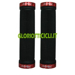 BLACK KNOBS WITH RED LOCKING