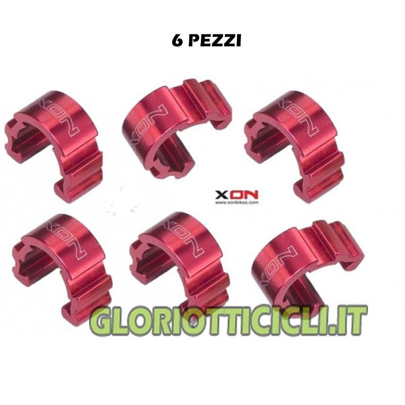 ALUMINUM RED C-CLIP SHEATH STOP
