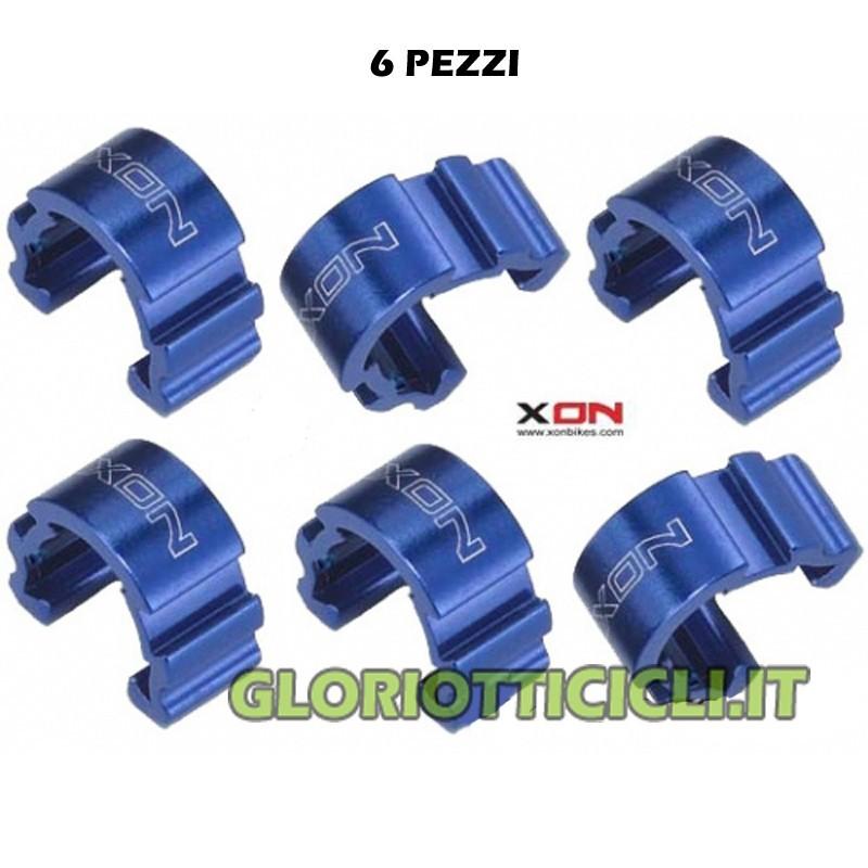 ALUMINUM BLUE C-CLIP SHEATH STOP