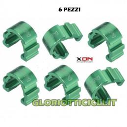 ALUMINUM GREEN C-CLIP SHEATH STOP