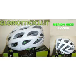 ROAD HELMET/MTB WHITE/GREEN HB23