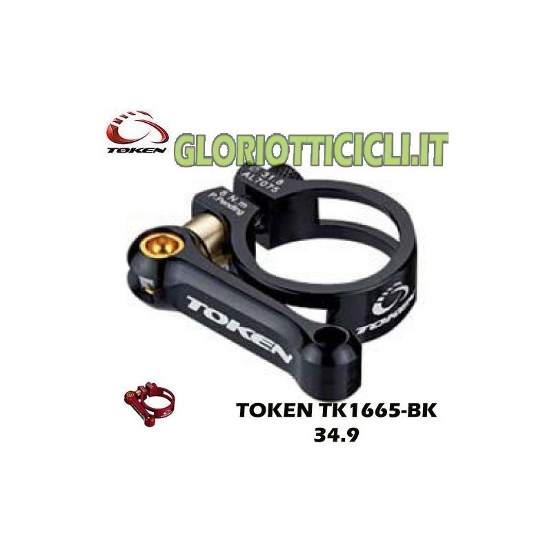 ROAD/MTB 34.9 BLACK TK1665-BK SEATPOST COLLAR
