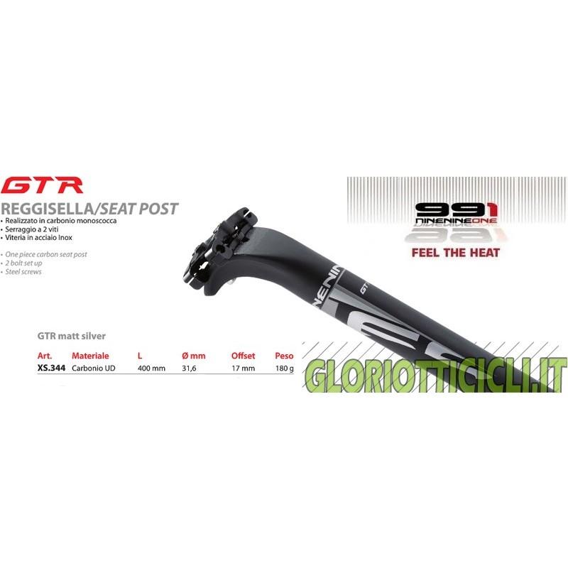 991 MONOSCOT CARBON SEATPOST GTR 31.6X400 mm 180 g