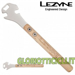 LEZYNE TOOL CLASSIC PEDAL ROAD HANDLE WOOD