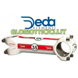DEDA HANDLEBAR ATTACHMENT THIRTY-FIVE WHITE 90 mm (35 mm)