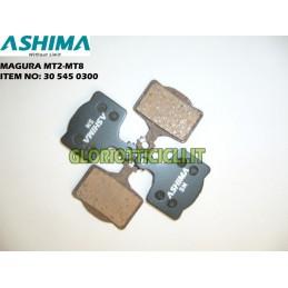 ASHIMA SET 4 SEMI-METALLIC BRAKE PADS FOR MAGURA MT2-MT8