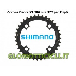 SHIMANO DEORE XT CROWN OF 32 TEETH FC-M760 (BLACK)