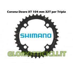 SHIMANO DEORE XT CORONA DA 32 DENTI FC-M760 (NERA)