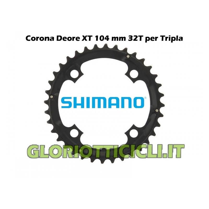 SHIMANO DEORE XT CROWN OF 32 TEETH FC-M760 (BLACK)