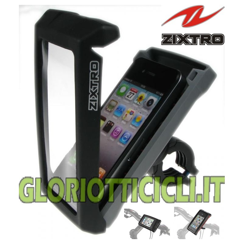ZIXTRO FLASH PORTA I-PHONE 4 GRIGIO