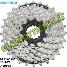 SHIMANO-PACCO PIGNONI SHIMANO DEORE CS-HG41 11-28T 7v