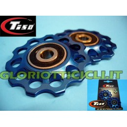PULEGGE/PULLEY PER CAMBIO IN ERGAL BLU