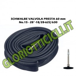 SCHWALBE AIR CHAMBER RUNNING VALVE LENDS 60 mm