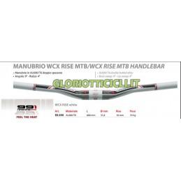 991 PIEGA MANUBRIO MTB WCX ALLUMINIO BIANCO COD: XS.335