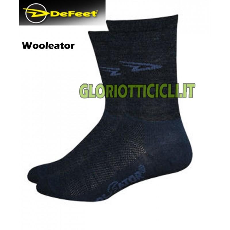 DEFEET WOOLEATOR-WOOL MERINOS WINTER SOCKS