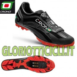 BLACK EXTREMA NYLON MTB SHOE TIME COACH